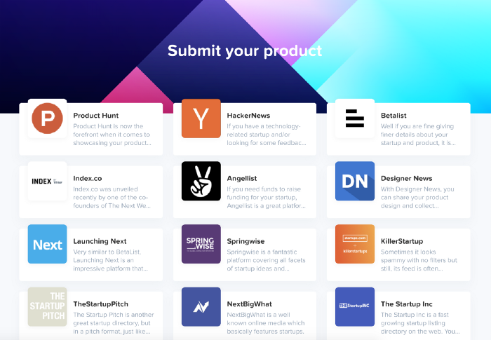 The Best Places to Post Your Startup