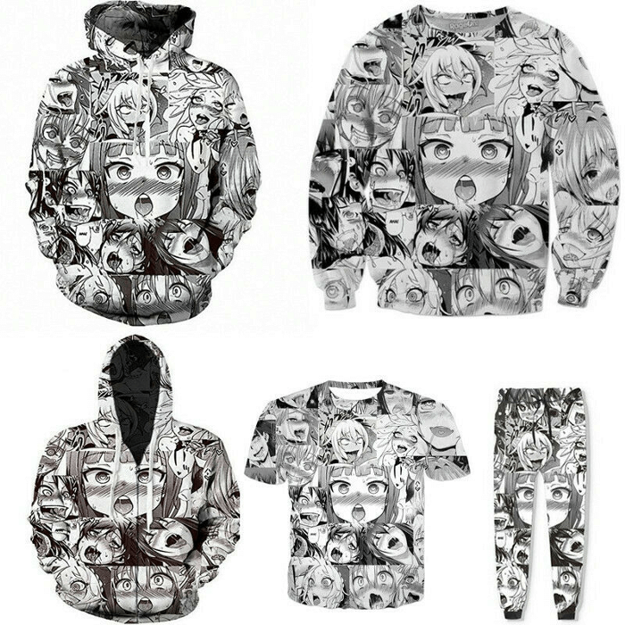 The Trend Of The Ahegao Hoodie