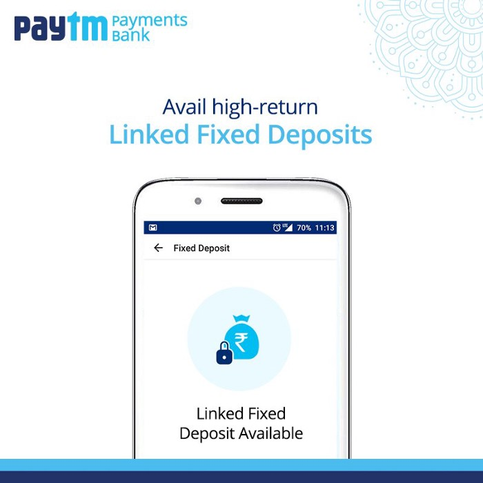 Paytm Payments Bank customers can avail high-returns for linked