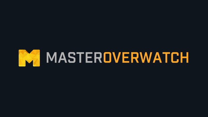 MasterOverwatch Overlay: A Twitch Extension viewers use to self
