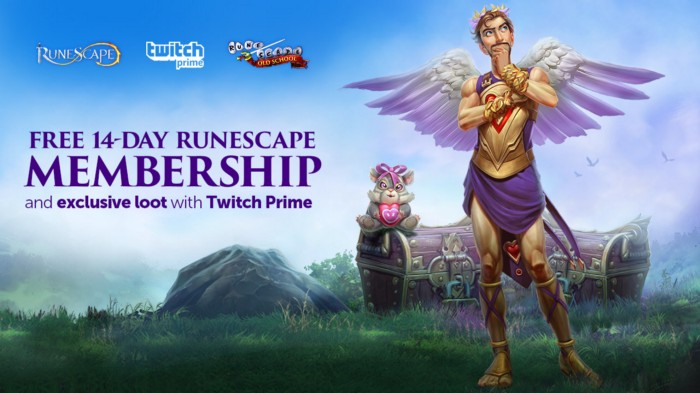 Twitch Prime Members, Get a 14-Day Membership to RuneScape and