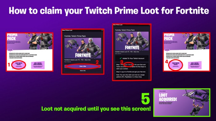 Squad Up in Fortnite with the Exclusive Twitch Prime Pack!