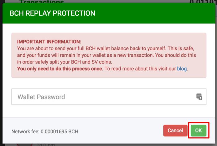BTC com Wallet offers Replay Protection and a BSV Extraction Tool