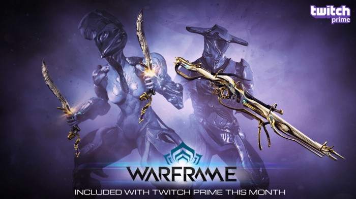 Twitch Prime Members: Get Even More Prime Weapons in Warframe!