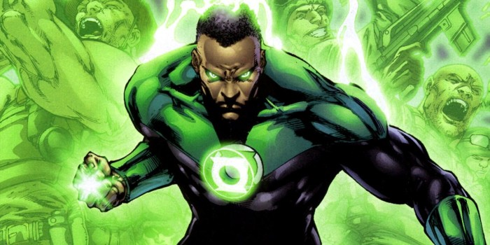 Comic Book Lessons in Analytics — Green Lantern John Stewart   by Greg  Anderson   Creative Analytics