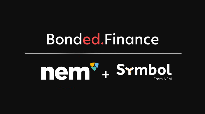 Bonded Cooperation With NEM and Symbol | by Bonded Finance | Dec, 2020 | Medium