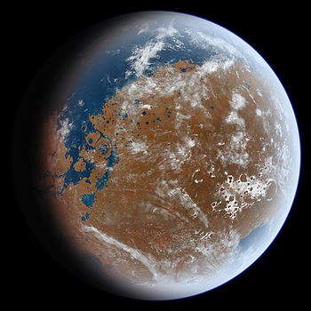 Mars in its early years