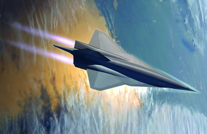 SR-72. Lockheed Martin Illustration