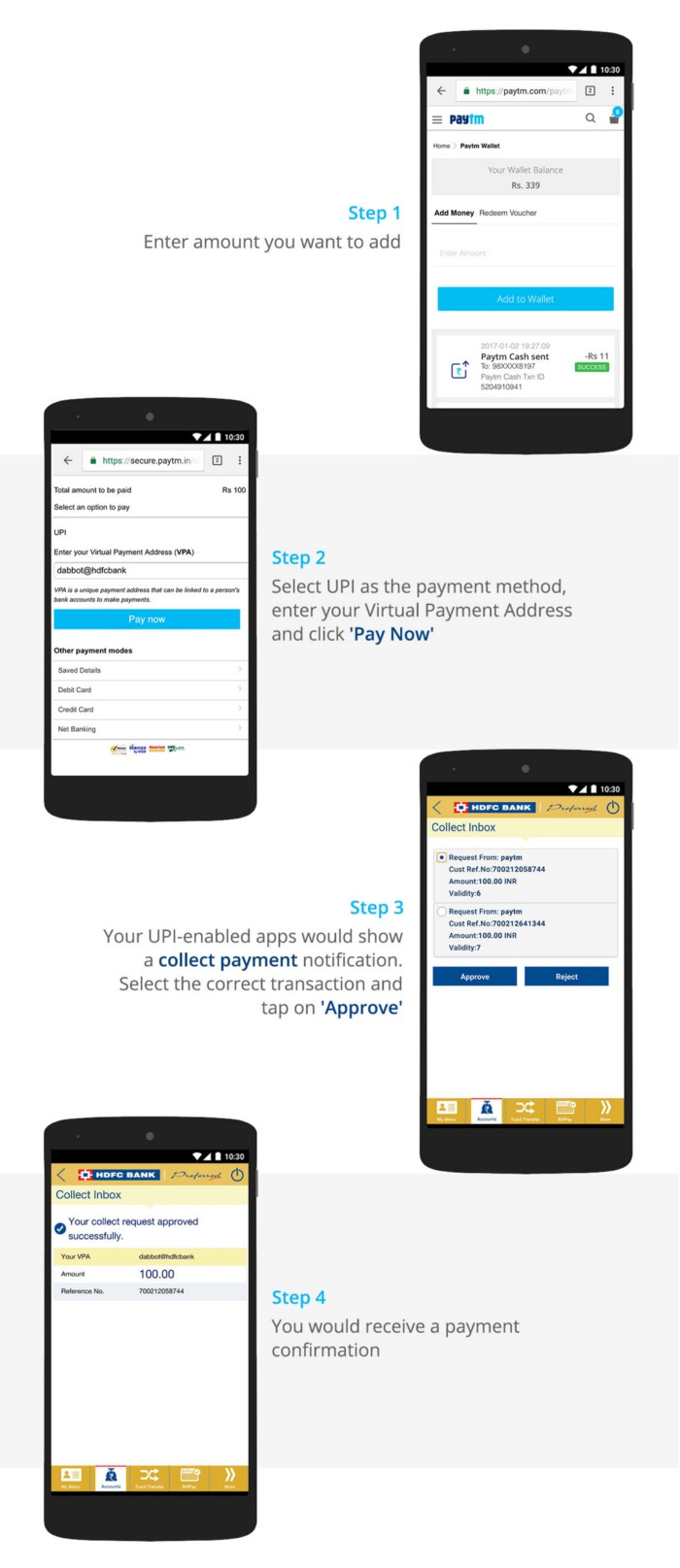 Adding money to your Paytm Wallet with UPI - Paytm Blog