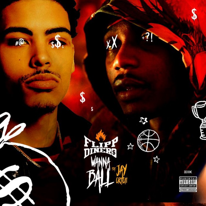 "Listen to Flipp Dinero and Jay Critch Link up for ""Wanna Ball"" on"