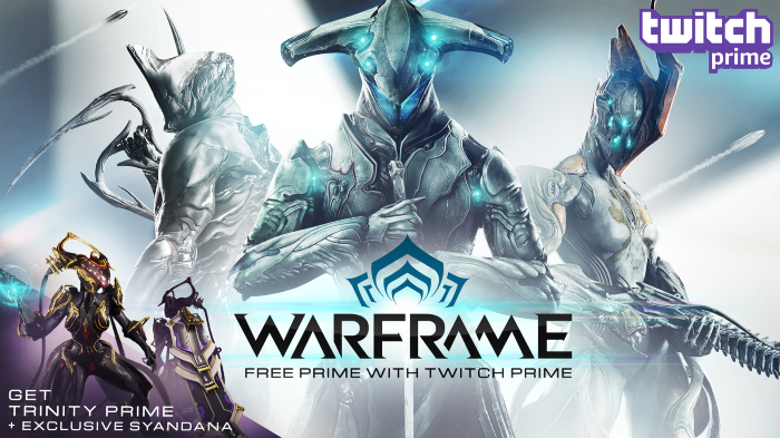 Twitch Prime Members, Get Trinity Prime and Exclusive Prime Syandana!