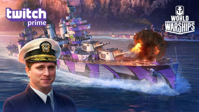 Twitch Prime Members! Get a Shipton of World of Warships Loot