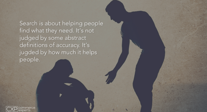 Search is a conversation with your potential customer