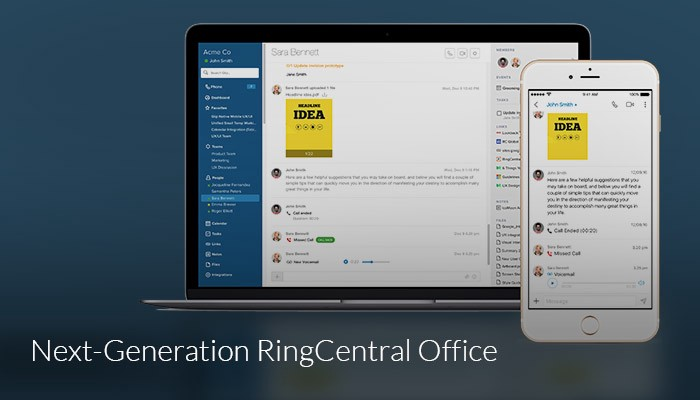 Glip Plays a Starring Role in Debut of New RingCentral Office