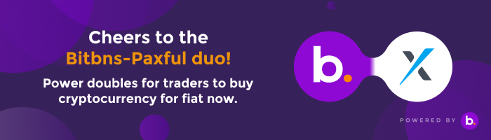 BITBNS ANNOUNCES A POWERFUL PARTNERSHIP WITH PAXFUL