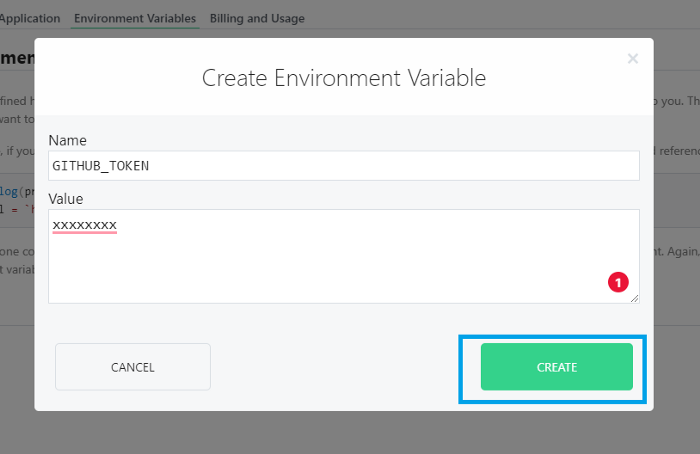 environment variable form pipedream