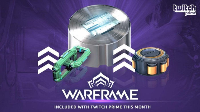 Twitch Prime Members, Level Up Your Arsenal Again with the Warframe