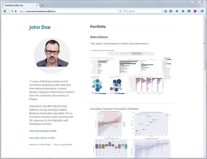 Set Up Your Portfolio Website In Less Than 10 Minutes With Github Pages By Ivanna Kacewica Noteworthy The Journal Blog
