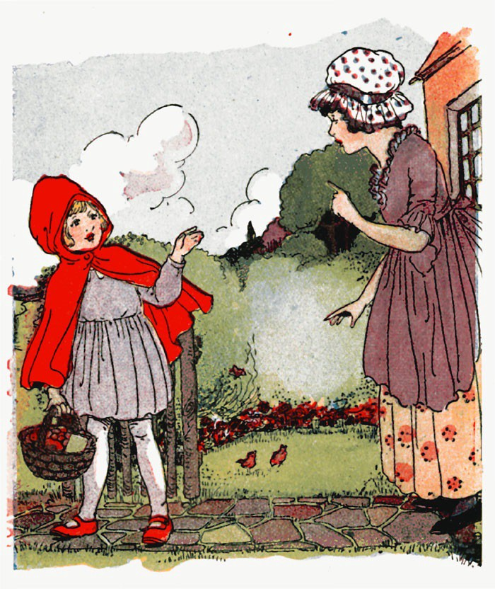 Little Red Riding Hood The Real Story Victor Dudzig Medium