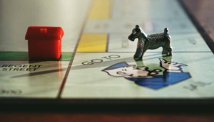 monopoly, its the end game