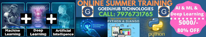 Project Based Best Summer Training Courses in Jaipur