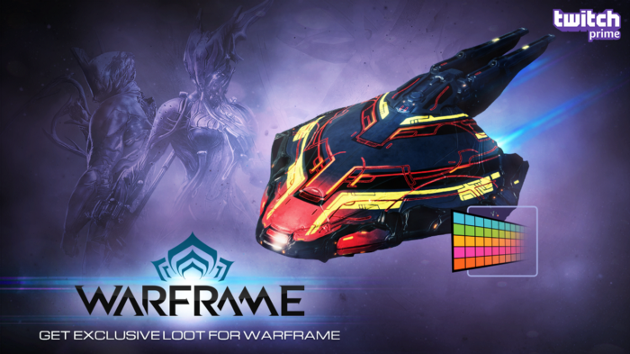 Twitch Prime Members, Get a Bonus Prime Day Warframe Skin for Your