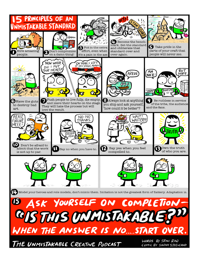 15 Principles of an Unmistakable Standard