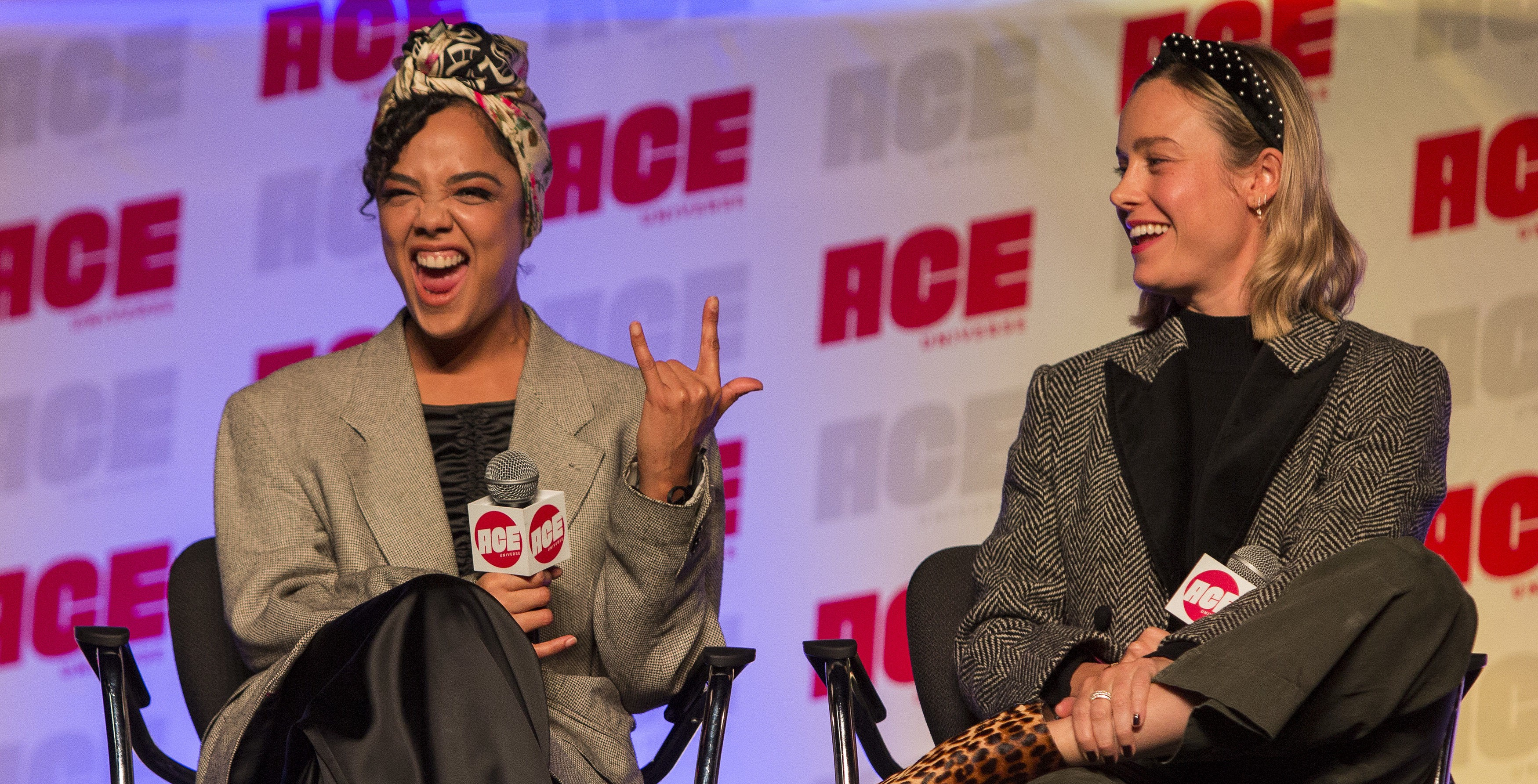 tessa thompson and brie larson