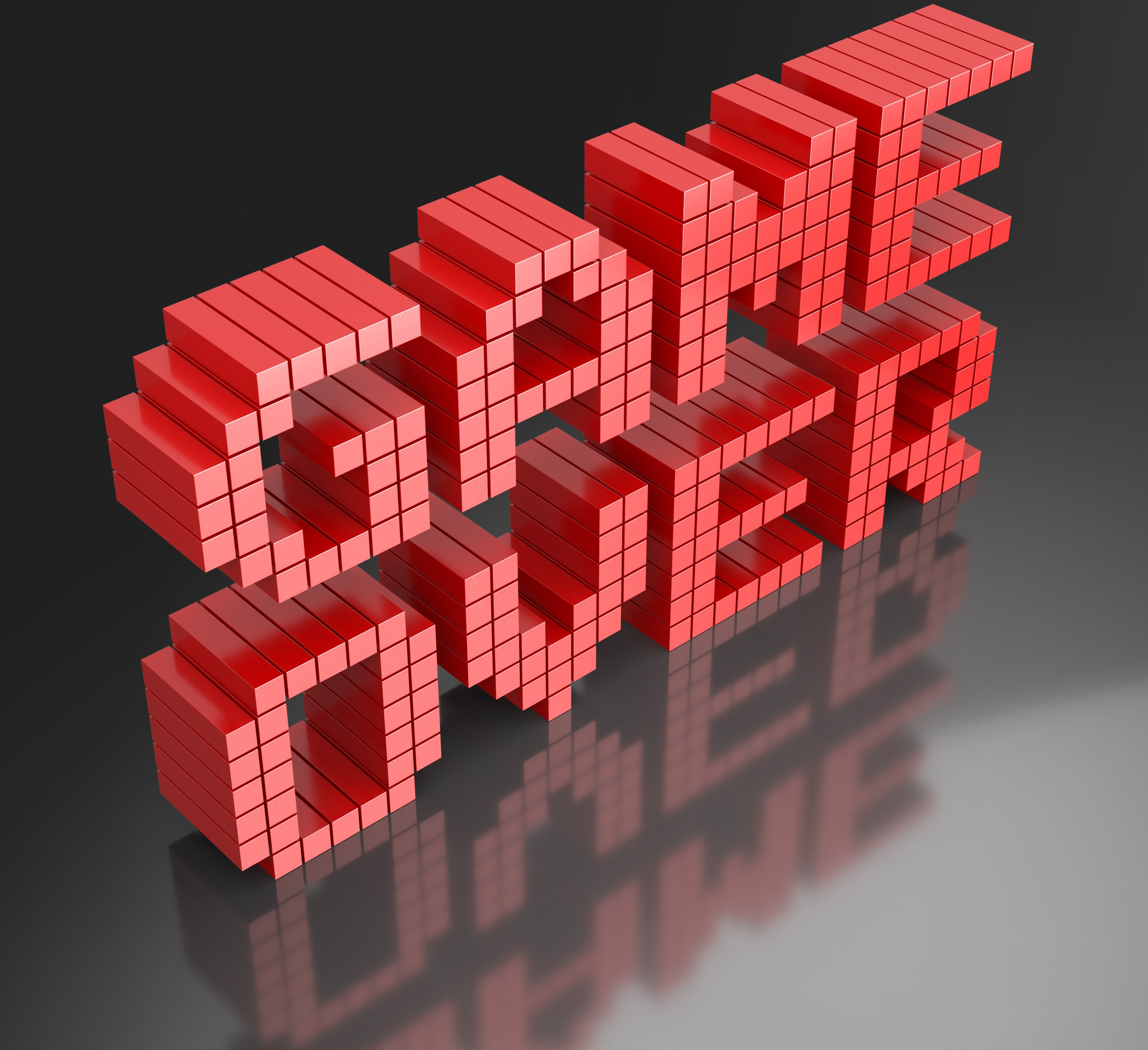 "3D render of the words ""GAME OVER"""