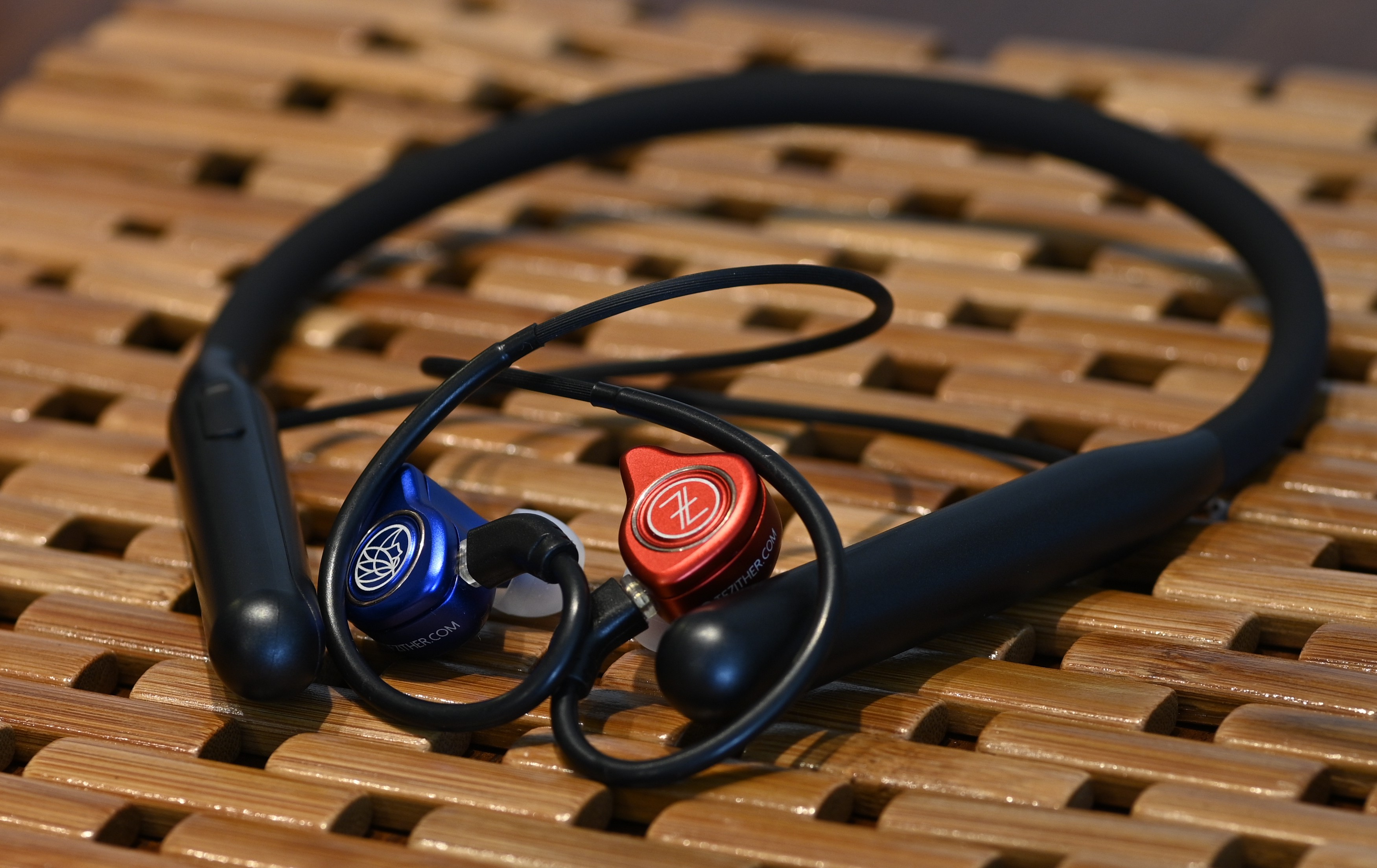 The LC-BT2 paired up with a pair of TFZ IEMs