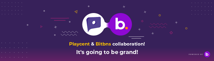 Bitbns X Playcent Collaboration!