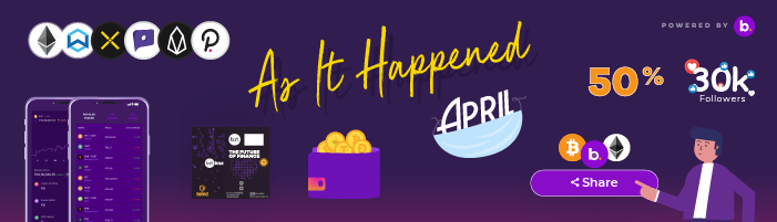 Monthly digest April 2021 is achievement packed! An exciting read!