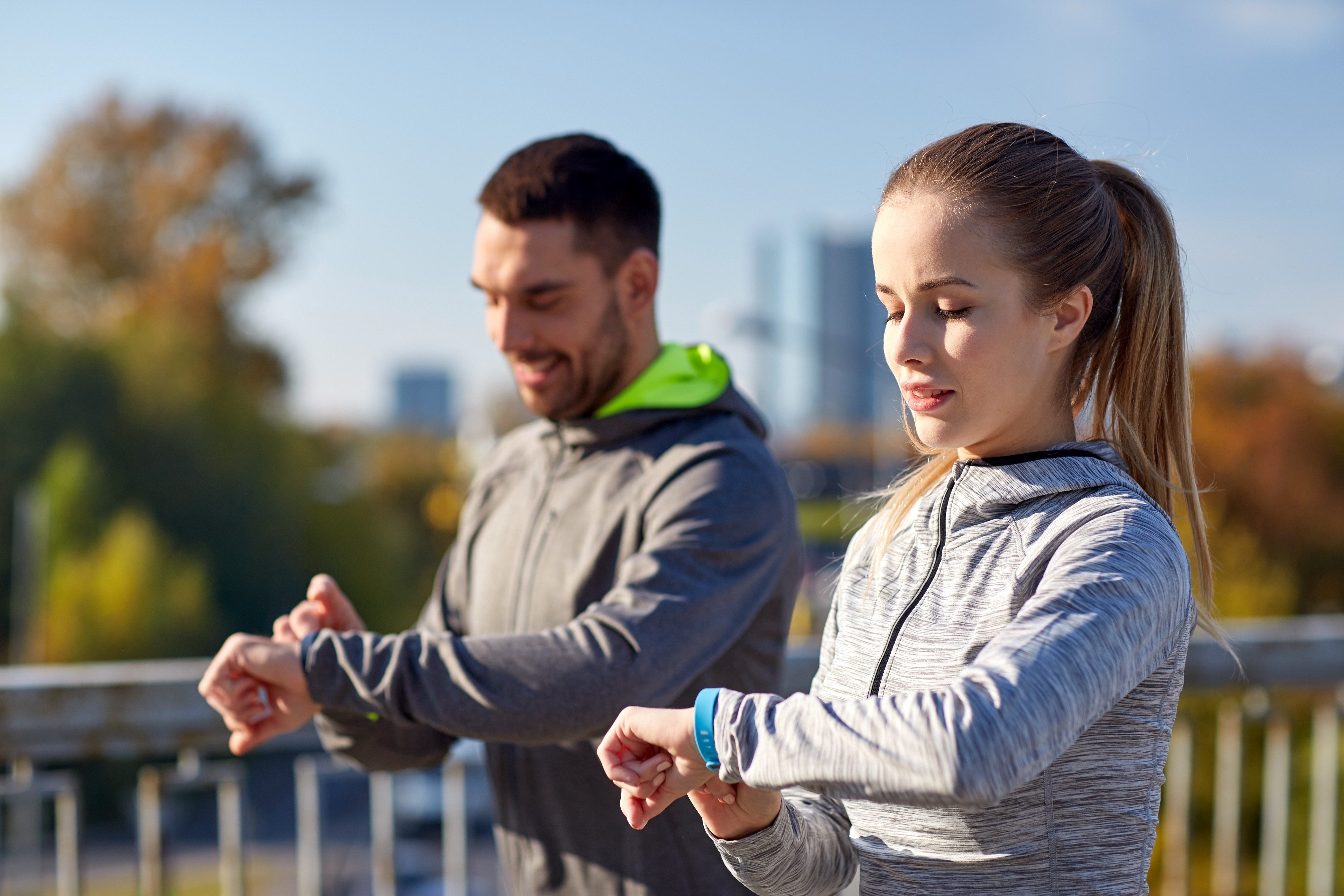 A fitness band needs to be programmed with the right goals