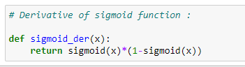Figure 66: Finding the derivative of our sigmoid function