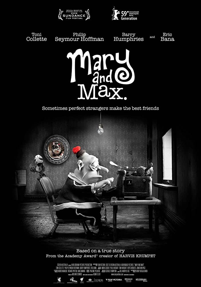 Movies Watch Mary And Max 2009 Watch Fullmovies Mary And Max 2009 Hd