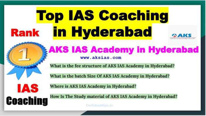 Details Of Top IAS Coaching in Hyderabad. Address, fee structure, Batch size, all information provide Top IAS Coaching.