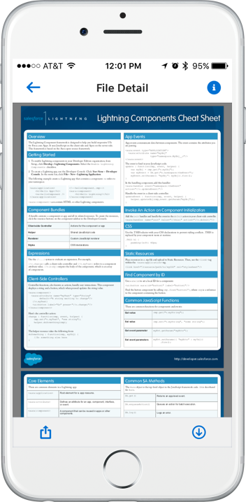 PDF Viewer Lightning Component - my journey with salesforce1