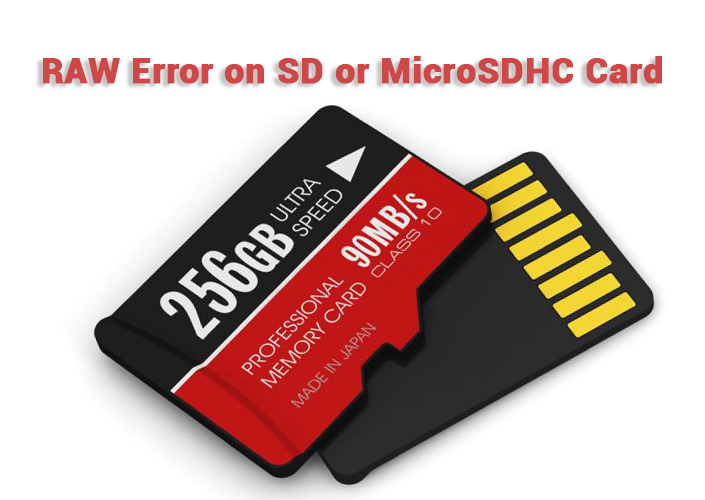 Raw Error On Sd Or Microsdhc Card By Starus Recovery Medium