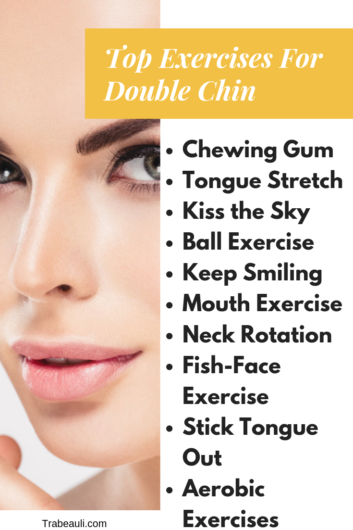 How To Get Rid Of Double Chin Naturally 10 Exercises Trabeauli By Trabeauli Medium