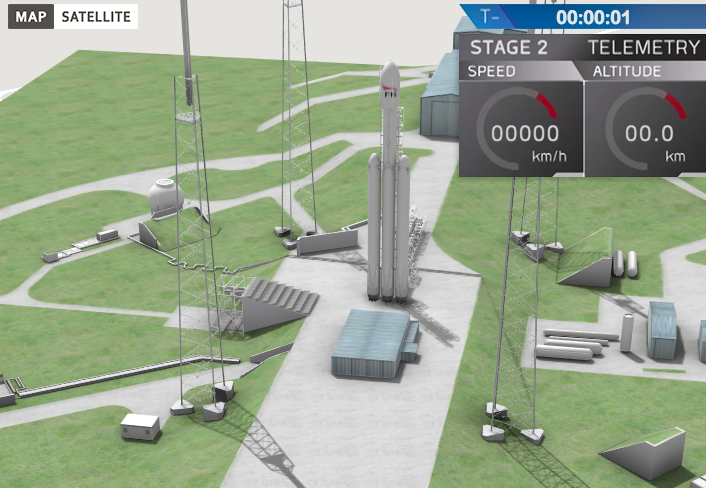 Creating a 360° 3D rendering of the SpaceX launch facility