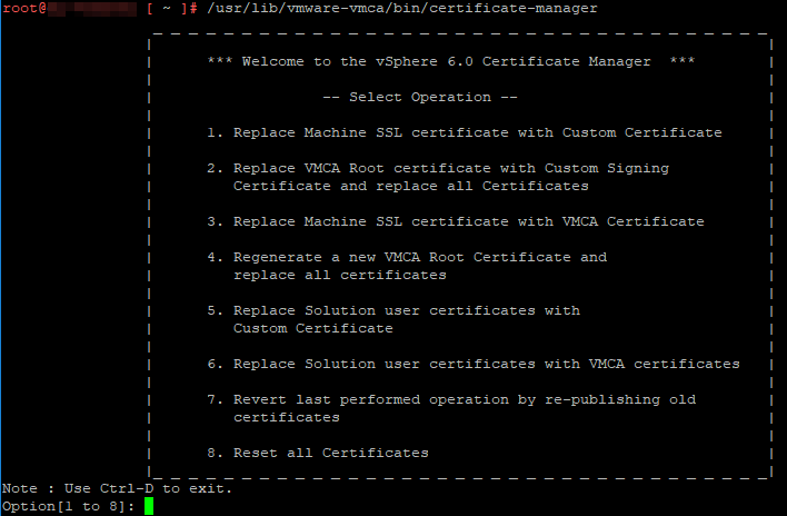 VMware vCenter Certificate Replacement - IT Solution