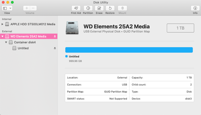 How to Format External USB Drive on macOS Mojave for Mac
