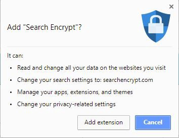 What is Search Encrypt's Browser Extension? - Search Encrypt