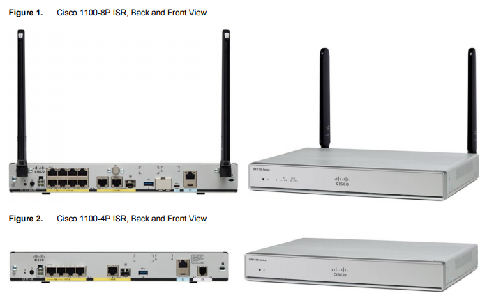 The Latest Cisco 1000 Series ISRs/1100 Models - ElisaSeven