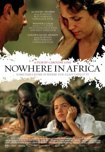 Poster for the film Nowhere In Africa