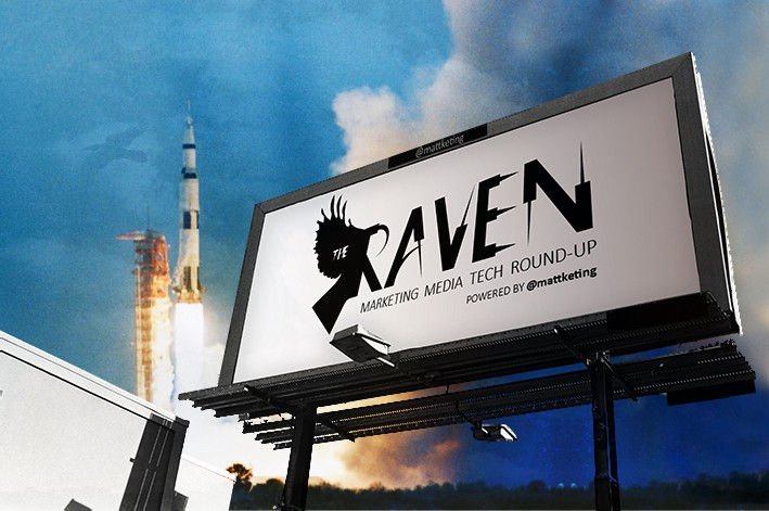 """The Golden Eagle has Landed"" The Raven Marketing, Media & Tech Round-up — 29th July — Moon Landing Special"