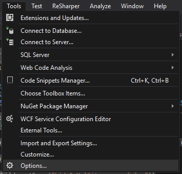Disable client-side debugging of ASP NET projects in Google