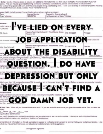 Hiring People With Disabilities Isnt Just The Right Thing >> This Is The Lie I Tell On Every Job Application Hanna