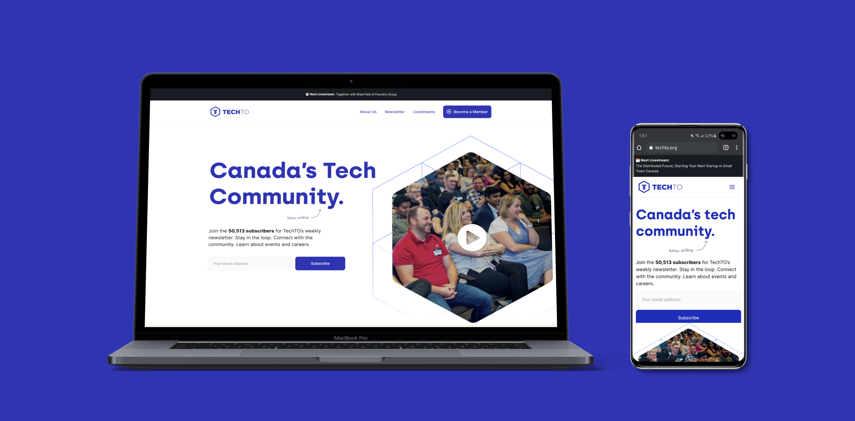 Header image showing the TechTO homepage on a laptop and a phone.