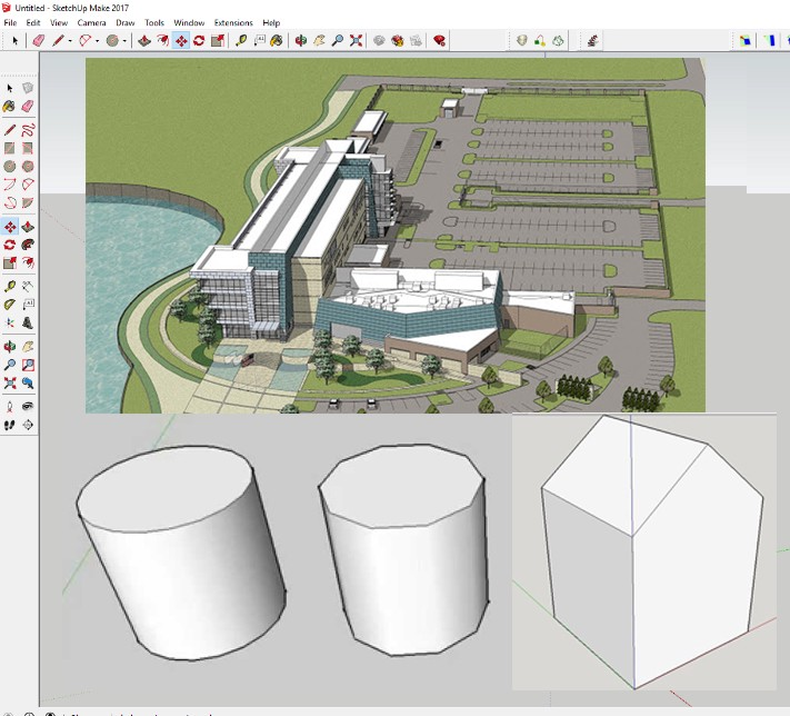 Creating Polygons in SketchUp in 5 seconds - Arka Roy - Medium
